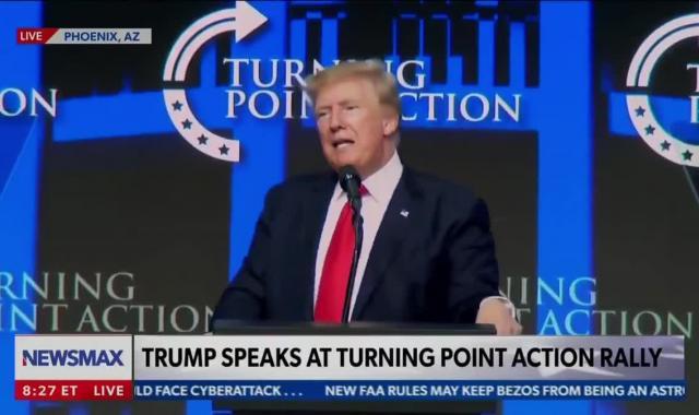 Trump's Arizona Theme: Hate America, Love Me