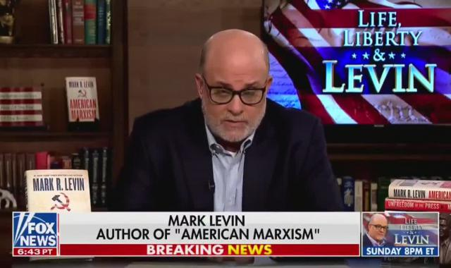Mark Levin Wants To Impeach Biden For Anything, Everything