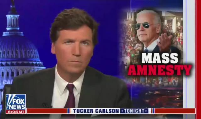 Tucker Warns About Joe Biden's Plan To Dilute White DNA