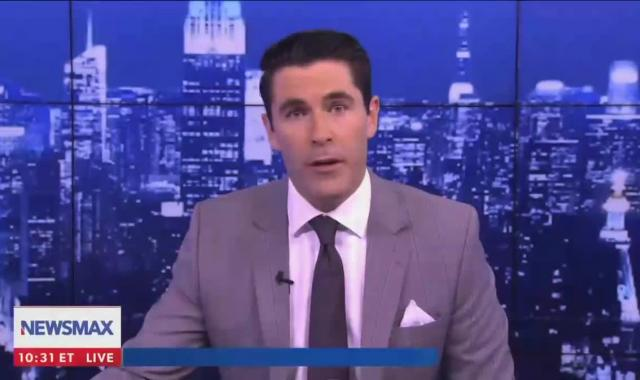 Newsmax Flips Over 'War On Halloween'
