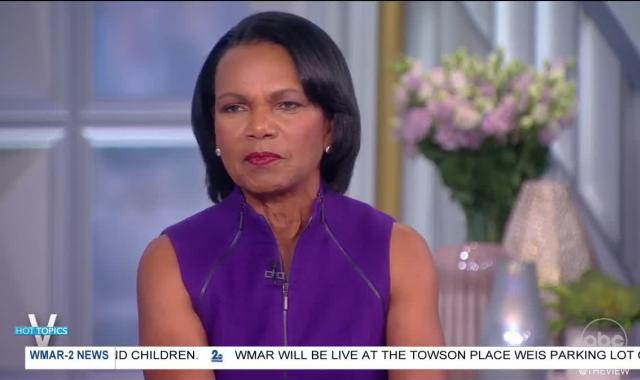 Why Condoleezza Rice Was Trending On Twitter