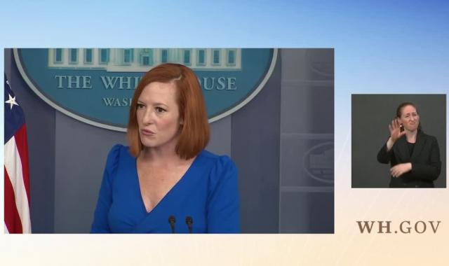 Psaki Bashes Anti-Choice Reporter For Asinine Abortion Question