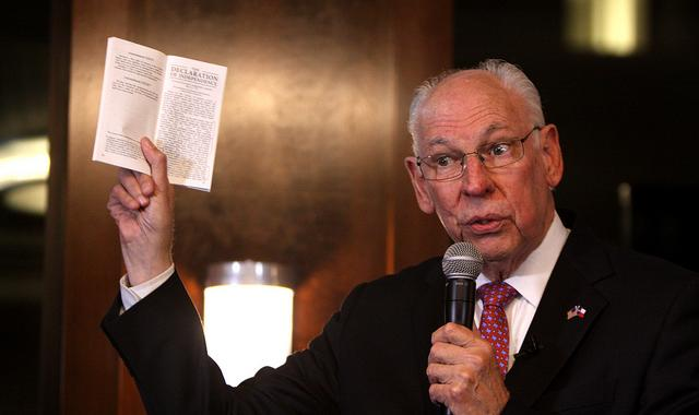 Rafael Cruz Thinks Transgenders Using Public Restrooms Will Bring On The Apocalypse