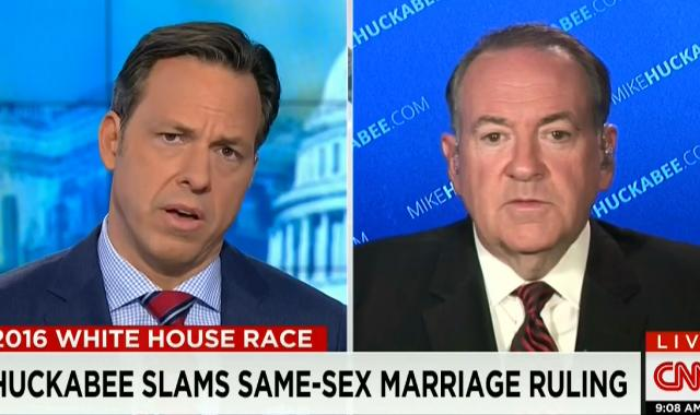 Mike Huckabee Claims The 'Redefinition Of Love' Threatens Marriage