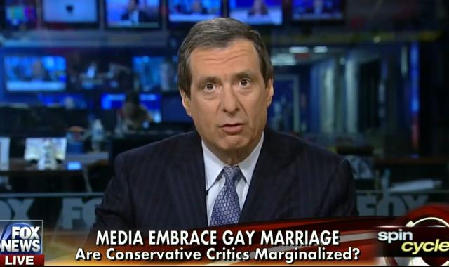 Howard Kurtz Opines About 'Biased' Coverage On Gay Marriage