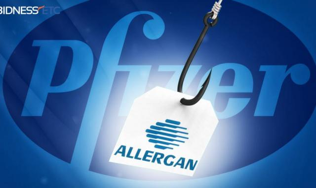 Pfizer Buying Allergan So It Can Pretend To Be Irish In Tax Scam