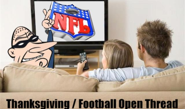 Thanksgiving Football Open Thread