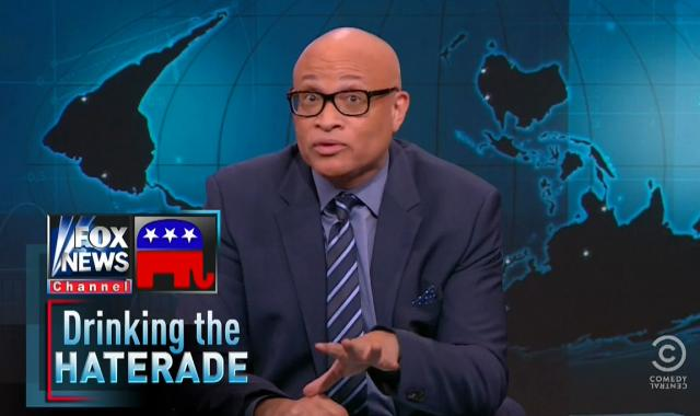 Larry Wilmore Slams Fox And The GOP For Serving Up The 'Haterade' On Planned Parenthood