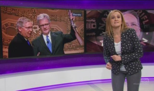 Samantha Bee Has Some Words To Say About Guns