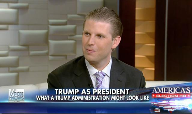 Eric Trump Openly Admits Pay To Play Access To 'Southern White House'