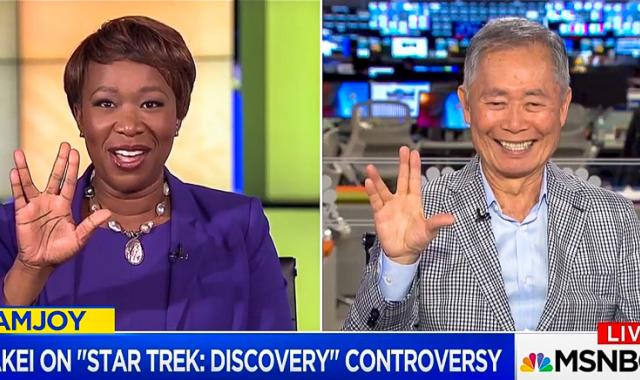 George Takei On Racist Critics Of Star Trek: 'Some Of These Trolls Go On To Be Presidents'