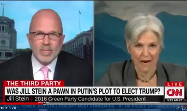 Jill Stein Blames Democrats--Not Russia--For Trump's 'Victory'