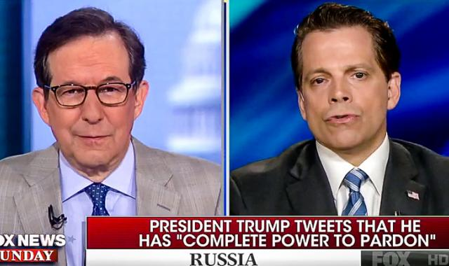 Scaramucci Contradicts Sekulow: I Talked About Pardons 'In The Oval Office With The President'