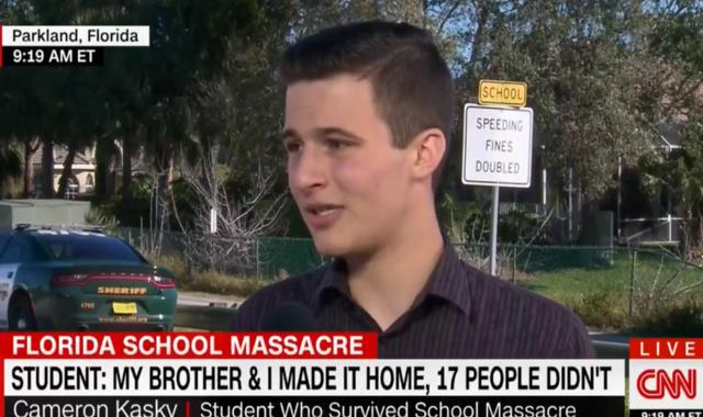 School Shooting Survivor: GOP Cares More About 'Rainbow Wedding Cakes' Than Dead Kids (VIDEO)