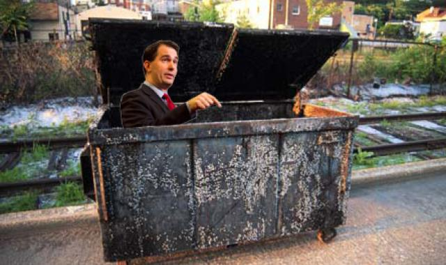 Scott Walker Exits As He Came In - With Lies, Chaos And Corruption