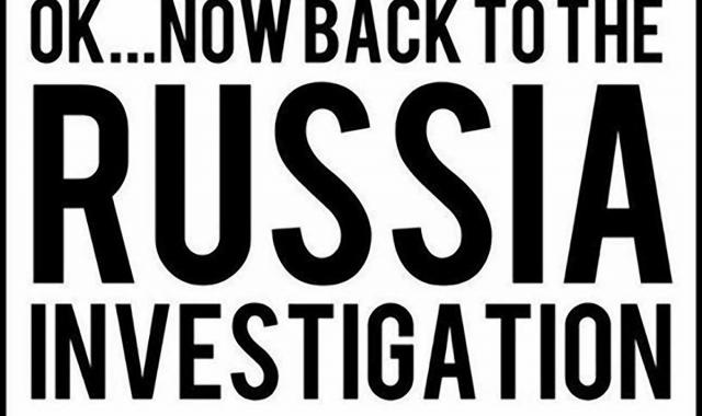 And Now, Back To The Trump Russia Investigations