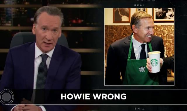Bill Maher Takes Apart Howard Schultz And His Fellow Both-Siderists