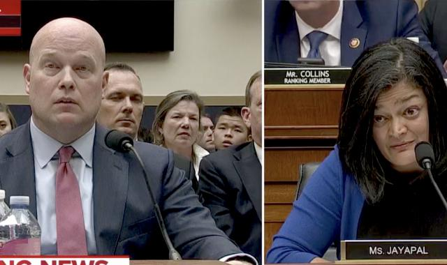 Rep. Jayapal Savages Whitaker Over Family Separations