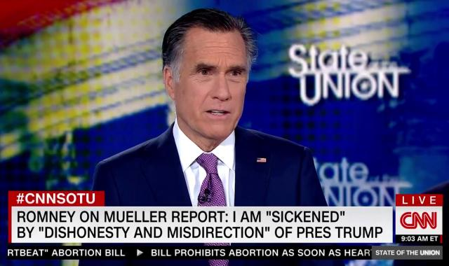 Mitt Romney Is 'Troubled' By Mueller Report, Refuses To Call For Impeachment
