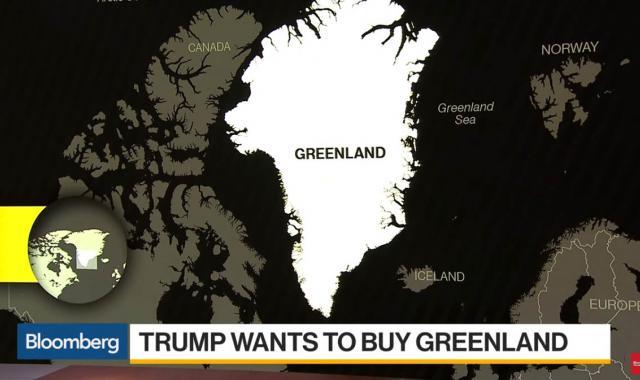 Denmark Mocks Trump's Reported Desire To Buy Greenland