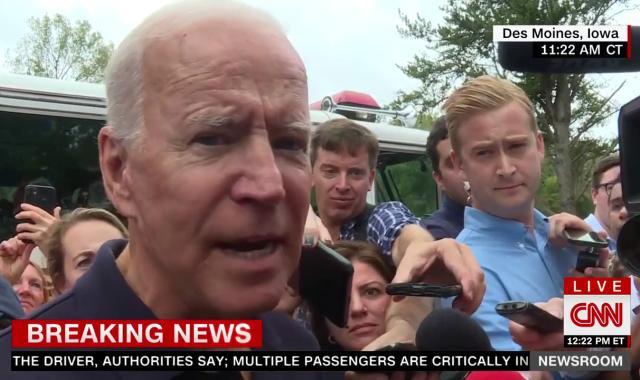 Watch Joe Biden Turn The Tables On Fox Reporter Trying To Make Ukraine Whistleblower Story About Biden's Son