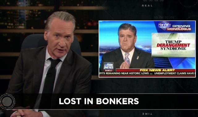 Bill Maher: If 'Trump Never Makes You Insane, You Are Insane!'