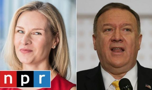 Mike Pompeo Releases Bitchy Statement Against NPR's Mary Louise Kelly