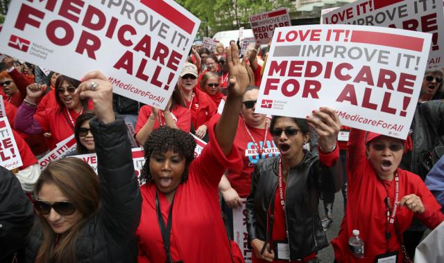 Lobbyist Group To Run Anti-'Medicare For All' Ads During Debate