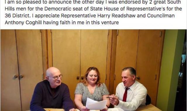 Trump-Loving Democrat Wins County Endorsement In Pennsylvania
