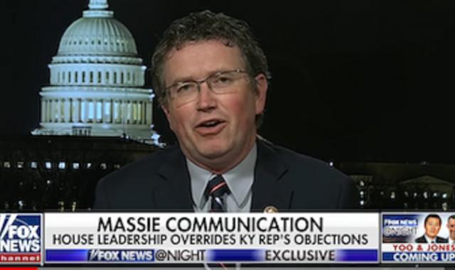 Rep. Massie Shrugs Off Stunt's COVID-19 Risk: Congress Has 'Pretty Good Healthcare'