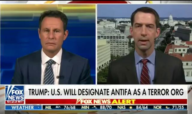 Sen. Tom Cotton Wants To Send In The 101st Airborne To Put Down 'Antifa Terrorists'