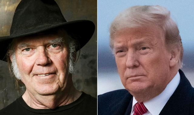 Neil Young Is STILL NOT OK With Trump Using His Music