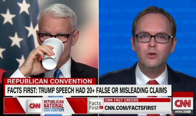 WATCH: CNN's Daniel Dale's Rapid-Fire Fact Check Of Trump's RNC Speech Is Amazing