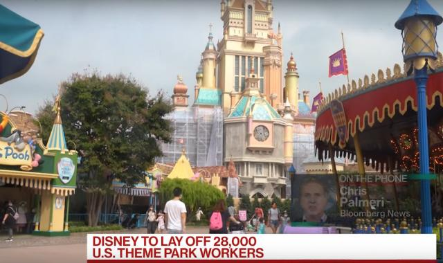 Disneyland, Walt Disney World To Lay Off 28,000 Employees