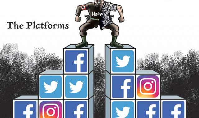 CARTOON: Platforms For Hate