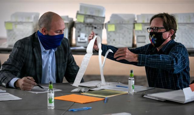 Michigan Board Of Canvassers Certifies Biden As The Winner