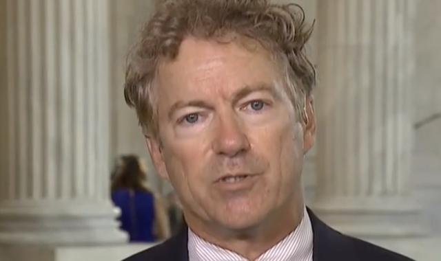Rand Paul Rants About COVID Relief Payments: 'Why Not $2000?'