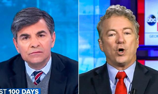 'You're Saying We're All Liars': Rand Paul Has A Fit On ABC After He's Asked About Election 'Lies'