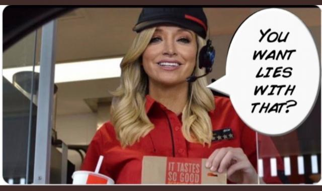 Kayleigh McEnany's New Job? Serving Lies On Fox News