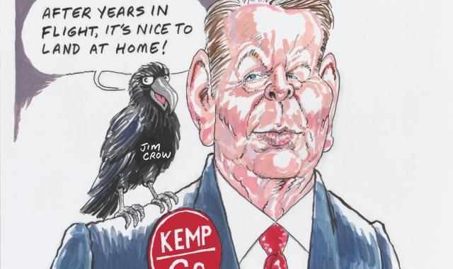 Brian Kemp's Feathered Friend