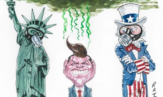 CARTOON: We Need Gaetz's Gas Mask Now