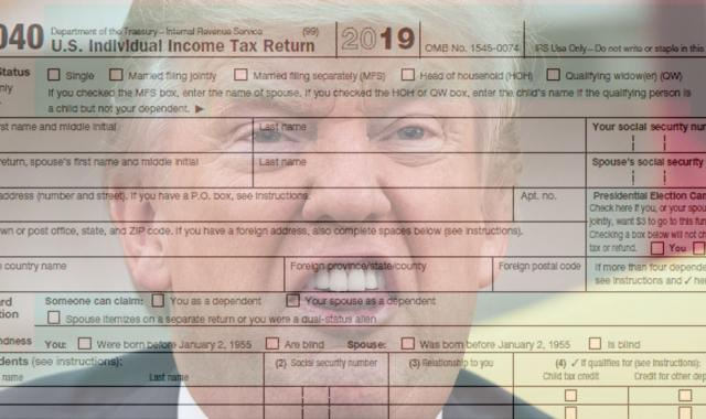 Twitler Asks Judge He Appointed To Hide His Taxes Forever