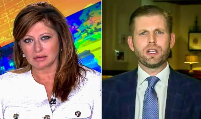 Bartiromo Asks Eric Trump About Minaj's 'Swollen Testicles' Claim