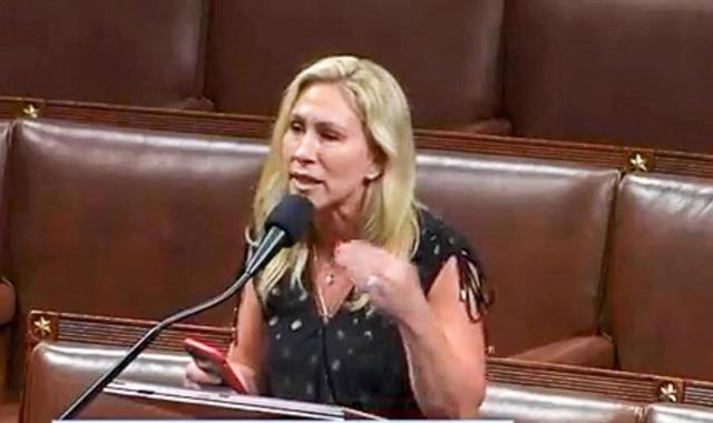 'Christian' Marge Greene: House Prayer And Pledge Is A Waste Of Taxpayer Money