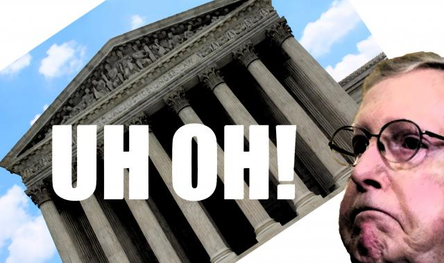 Whoops!  SCOTUS Hijack Backfires On Mitch McConnell
