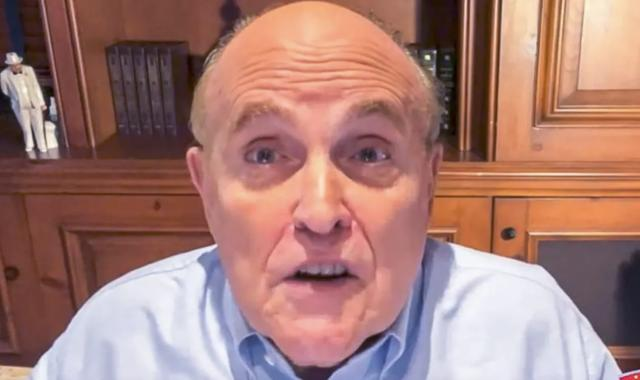 Giuliani Fears 'Insanely Hysterical' Milley Will 'Bomb White Supremacists'
