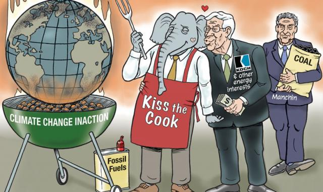 CARTOON: Fire Up The Grill!