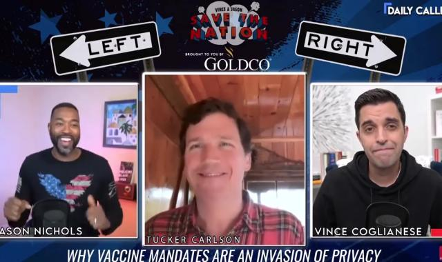Tucker Refuses To Say What The Fox News COVID Policy Is
