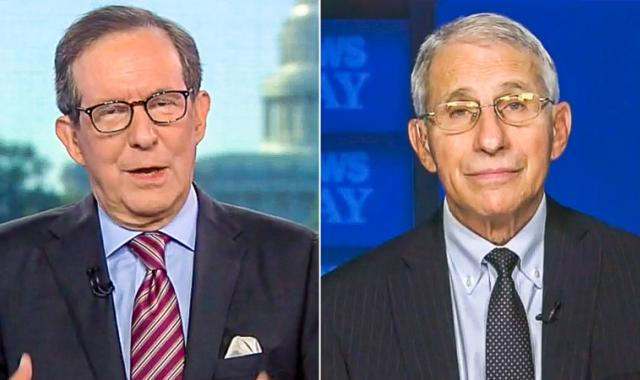 Chris Wallace Asks Fauci Why He's Become 'So Controversial'