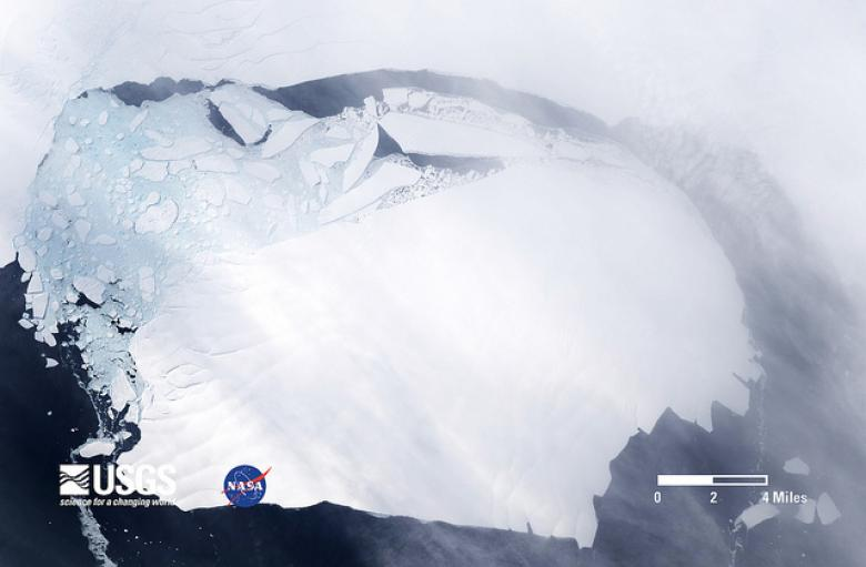 Giant Antarctic Glacier Beyond Point Of No Return